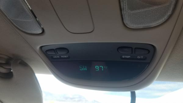 Quartzsite Temp The Day We Arrived | Tracy Marie Lewis | www.stuffnthingz.com