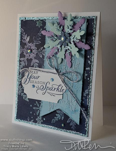 WICW - Snowflake Card   Tracy Marie Lewis