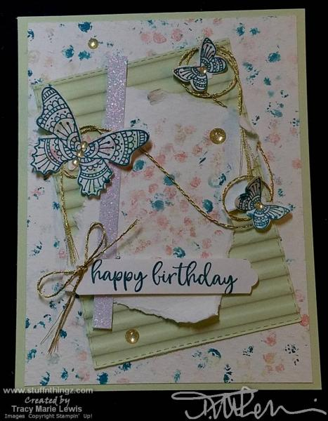 Retiring Butterfly Grunge Card   Tracy Marie Lewis   www.stuffnthingz.com