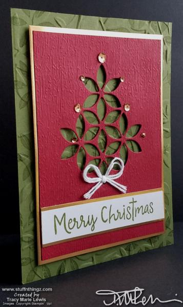 Christmas Tree - Display Card | Tracy Marie Lewis | www.stuffnthingz.com