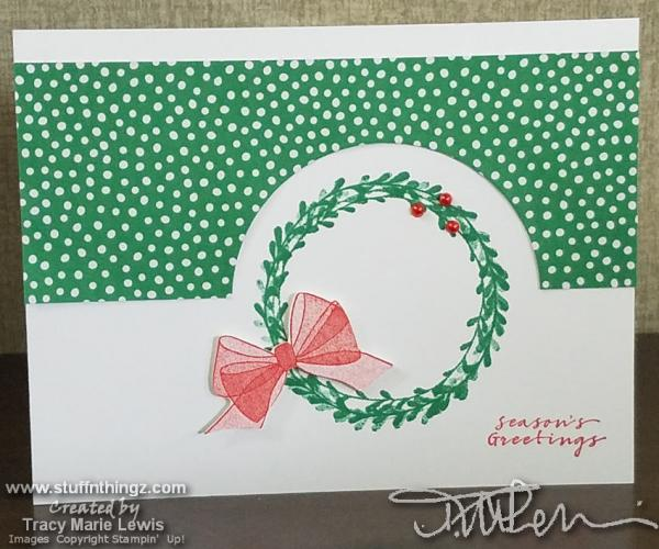 Easy Holiday Card Fronts | Tracy Marie Lewis | www.stuffnthingz.com