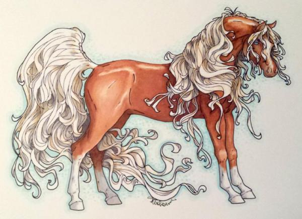 Palomino by Tracy Marie Lewis | www.stuffnthingz.com