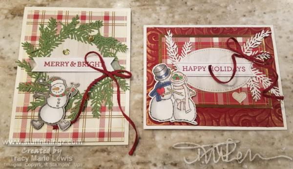 Alternatives Featuring Spirited Snowmen | Tracy Marie Lewis | www.stuffnthingz.com