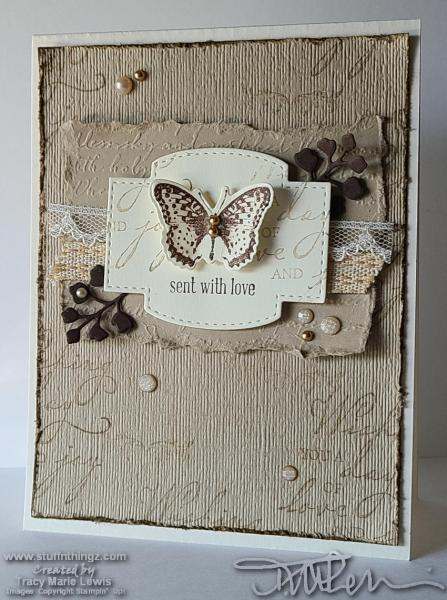 With Love Butterfly Card   Tracy Marie Lewis   www.stuffnthingz.com