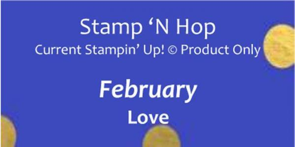 February 2019 Stamp 'N Hop - Love | Tracy Marie Lewis | www.stuffnthingz.com
