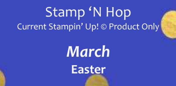 Stamp 'N Hop Blog Hop - Easter | Tracy Marie Lewis | www.stuffnthingz.com