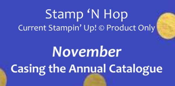 November 2018 Stamp 'N Hop | Tracy Marie Lewis | www.stuffnthingz.com