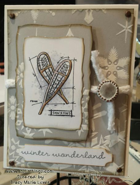Winter Wonderland Card | Tracy Marie Lewis | www.stuffnthingz.com