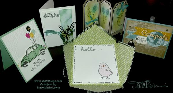 Stampin' Up Camp Cards | Tracy Marie Lewis | www.stuffnthingz.com
