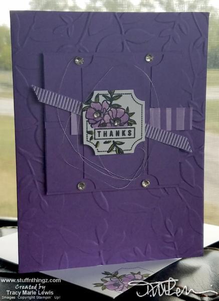 Fun Purple Project | Tracy Marie Lewis | www.stuffnthingz.com