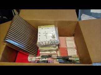 UNBOXING - Stampin' Up! Resupply AND SAB-Occasions Order | Tracy Marie Lewis | www.stuffnthingz.com