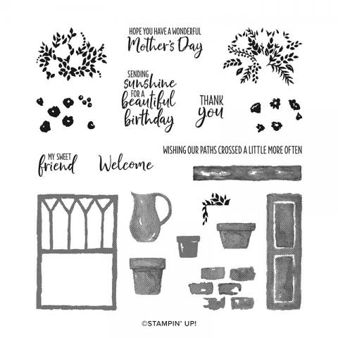 Welcoming Window Stamp Set by Stampin' Up!