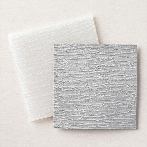 Bark 3D Embossing Folder