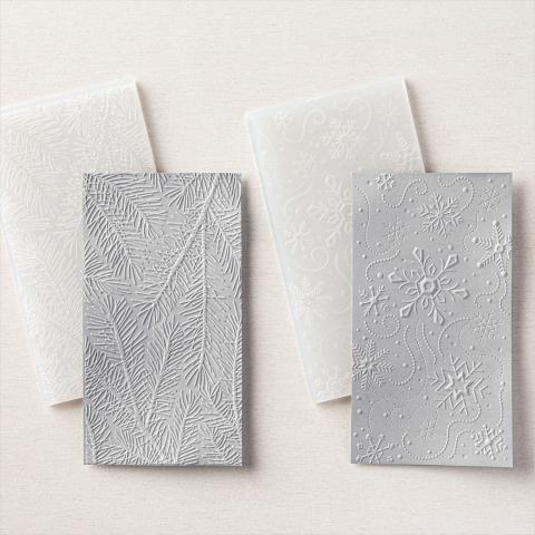 Wintry 3D Embossing Folders by Stampin' Up!