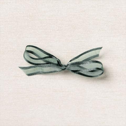 Evening Evergreen Open Weave Ribbon