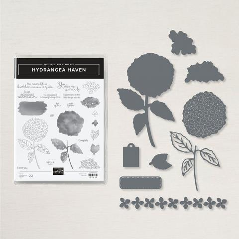 Hydrangea Haven Bundle by Stampin' Up!