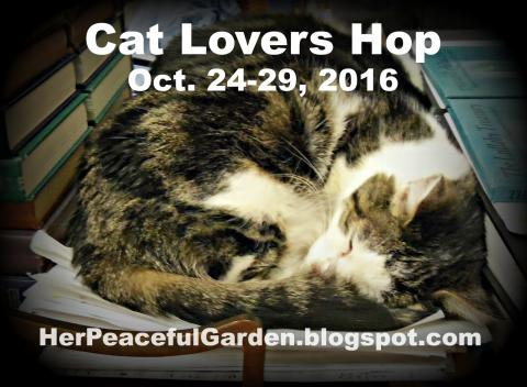 Cat Lovers Hop | herpeacefulgarden.blogspot.com/
