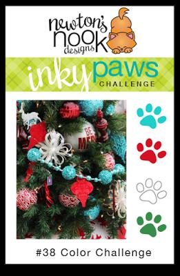 Newton's Inky Paws Challenge #38 | www.stuffnthingz.com