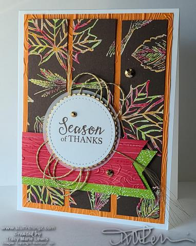 WICW1 Joseph's Coat Thanksgiving Card   Tracy Marie Lewis   www.stuffnthingz.com