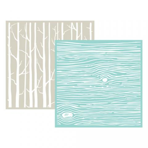 Wood Texture Embossing Folder | www.stuffnthingz.com