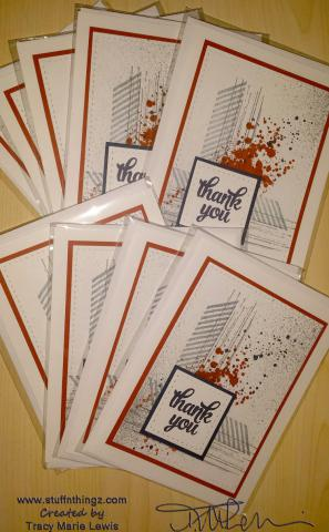 Fall Stamp Camp Card Swap | Tracy Marie Lewis - www.stuffnthingz.com