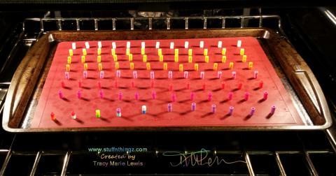 Perler Beads To Enamel DIY Dots   Tracy Marie Lewis   www.stuffnthingz.com