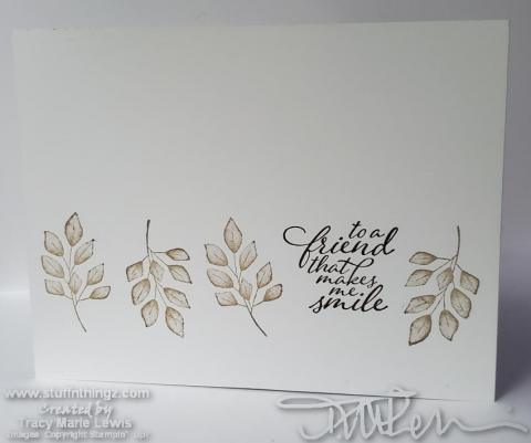 Simple Stamping Forever Fern Smile Card | Tracy Marie Lewis | www.stuffnthingz.com