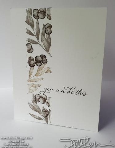 Simple Stamping Forever Fern You Can Card | Tracy Marie Lewis | www.stuffnthingz.com