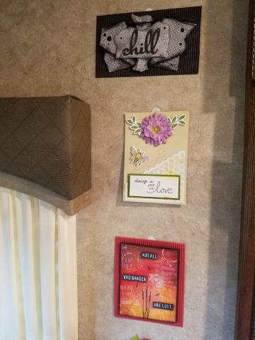 My inspiration wall | Tracy Marie Lewis | www.stuffnthingz.com