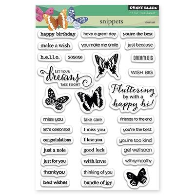 Penny Black Clear Stamps SNIPPETS | www.stuffnthingz.com