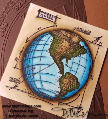 Peek At My World Coloring | Tracy Marie Lewis | www.stuffnthingz.com