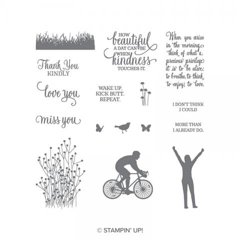 Enjoy Life Photopolymer Stamp Set | Tracy Marie Lewis | www.stuffnthingz.com
