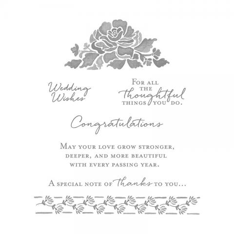 Floral Phrases Clear Mount Stamp Set | Tracy Marie Lewis | www.stuffnthingz.com