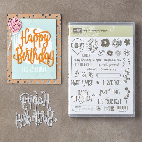Happy Birthday Gorgeous | Tracy Marie Lewis | www.stuffnthingz.com
