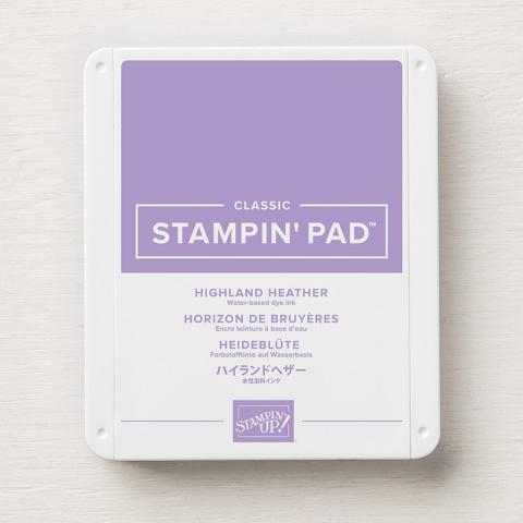 Highland Heather Classic Stampin' Ink Pad