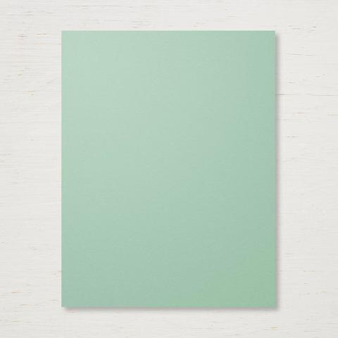 Mint Macaron 8 1/2 x 11 Cardstock by Stampin' Up!