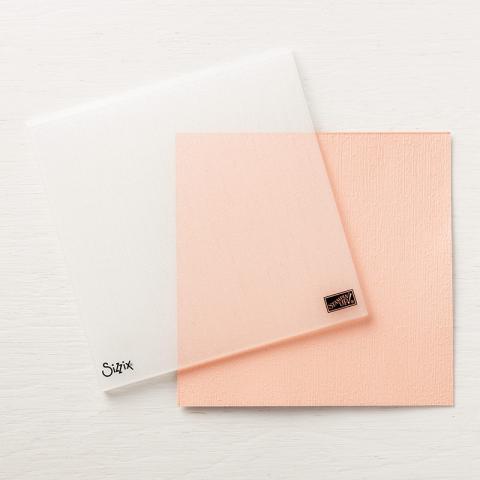 Subtle 3D Embossing Folder