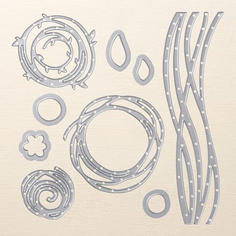 Swirly Scribbles Thinlits Dies   Tracy Marie Lewis