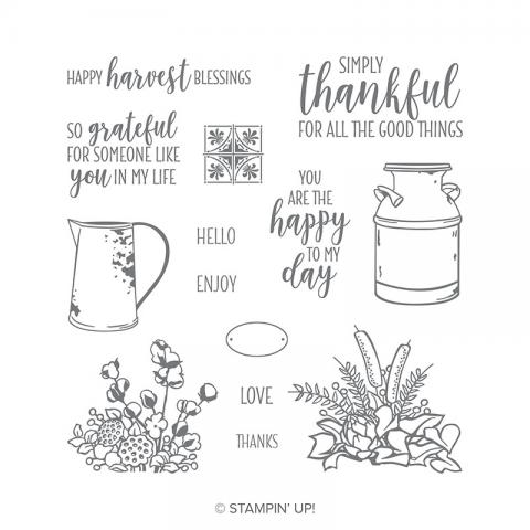 Country Home Photopolymer Stamp Set | Tracy Marie Lewis | www.stuffnthingz.com