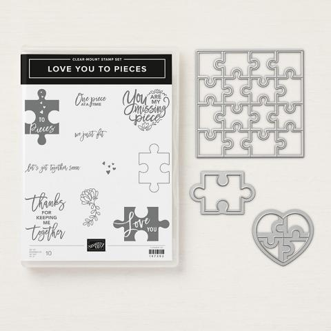 Love You To Pieces Clear Mount Bundle | Tracy Marie Lewis | www.stuffnthingz.com