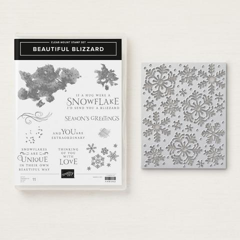 Beautiful Blizzard Clear Mount Bundle | Tracy Marie Lewis | www.stuffnthingz.com