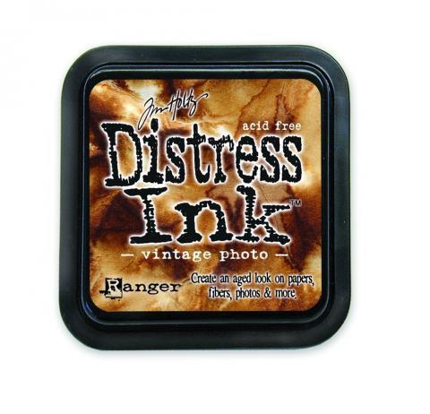 Holtz Distress Inks - Vintage Photo  | Tracy Marie Lewis | www.stuffnthingz.com