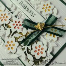 Thanksgiving Vine Design Card | Tracy Marie Lewis | www.stuffnthingz.com
