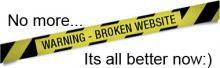 Broken website is now fixed! | Tracy Marie Lewis | www.stuffnthingz.com