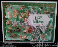 Call Me Clover Floral Birthday Card | Tracy Marie Lewis | www.stuffnthingz.com