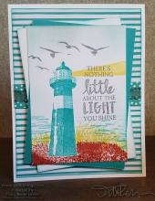 Uplifting Lighthouse Card | Tracy Marie Lewis | www.stuffnthingz.com