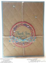 Thank You Kindly Card | Tracy Marie Lewis | www.stuffnthingz.com