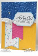 Celebrate Banners Card Fronts | Tracy Marie Lewis | www.stuffnthingz.com