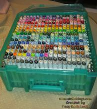 DIY Copic Storage | Tracy Marie Lewis | www.stuffnthingz.com