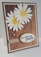 Favorite Swap - Daises Smile Card